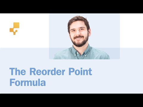 The Reorder Point Formula | inFlow Inventory