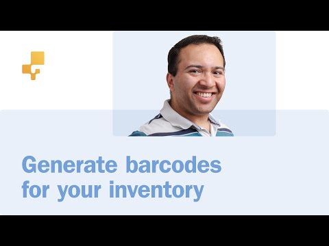 How to generate barcodes for your inventory | inFlow Cloud