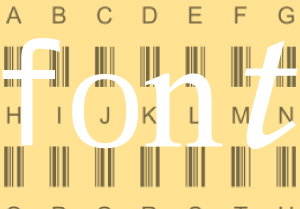 download free barcode font code 39