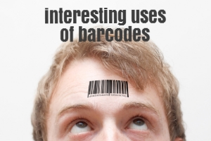 interesting uses of barcodes