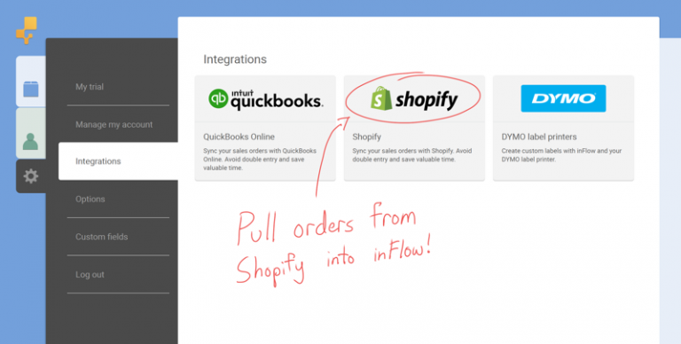 Pull Shopify orders into inFlow Cloud