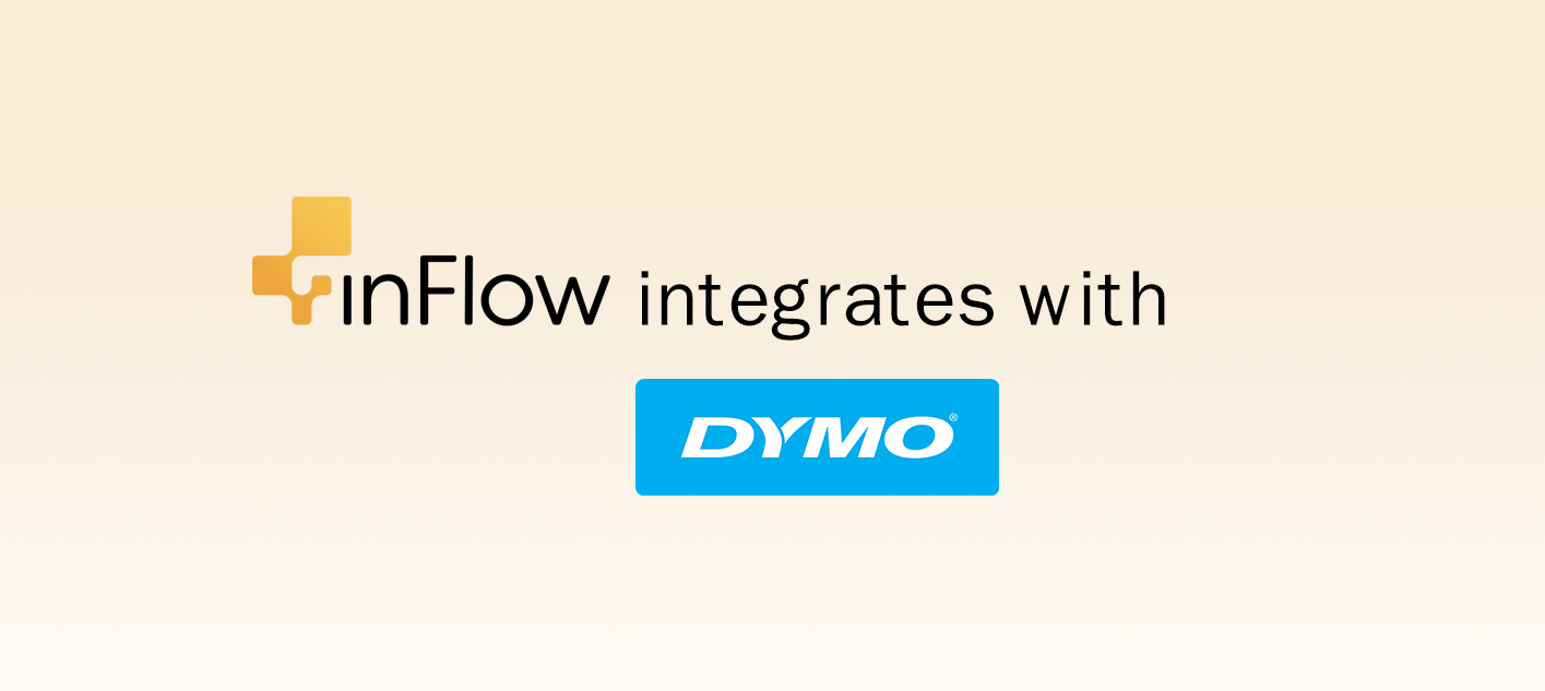 inFlow integrates with DYMO