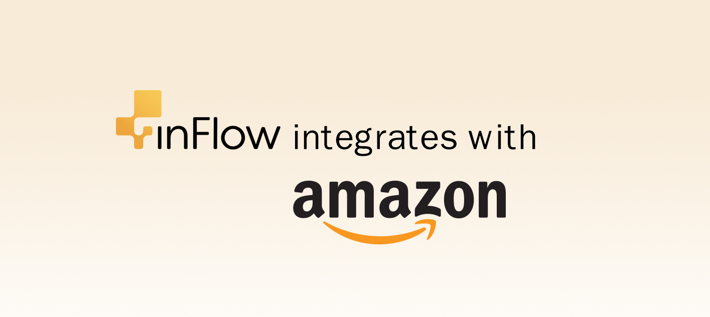 inFlow integrates with Amazon
