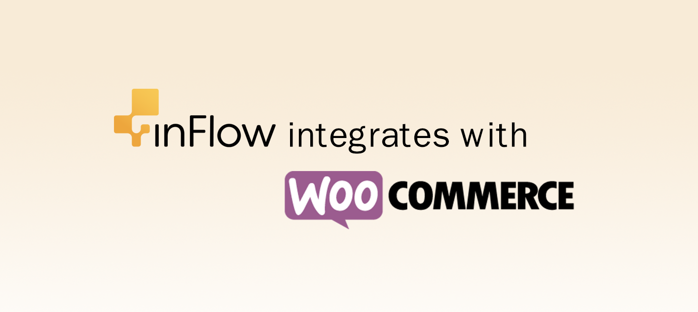 inFlow integrates with WooCommerce