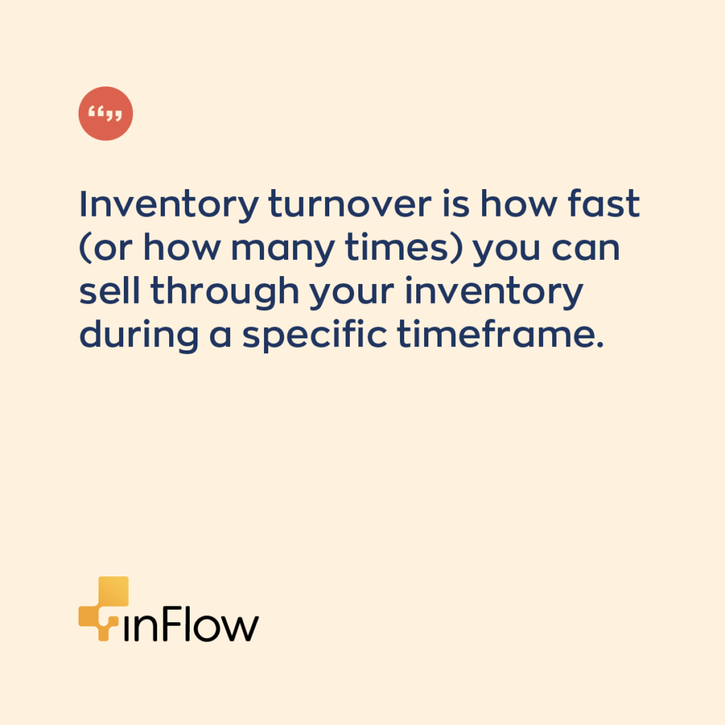 Inventory turnover rate definition