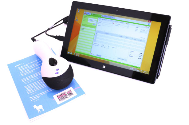 barcode scanner microsoft surface