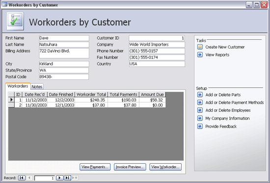Using Work Order Software and Forms for Manufacturing Management