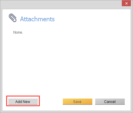 Attachment screen