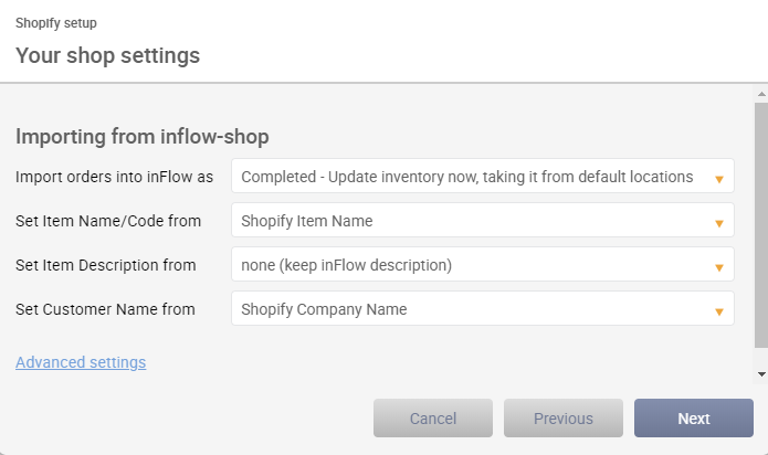 inflow inventory how to set up discounts