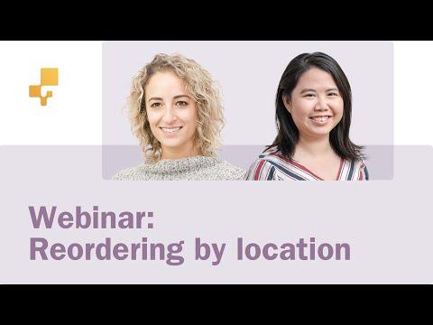 Webinar: Reordering by Location