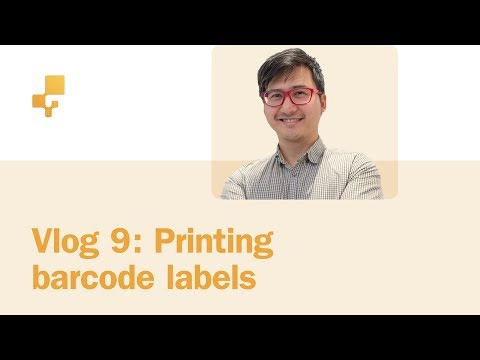 inFlow Vlog #9 | Generating and printing barcode labels with DYMO printers