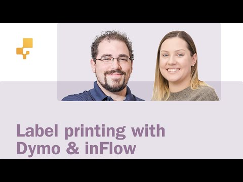 Label printing with inFlow and Dymo