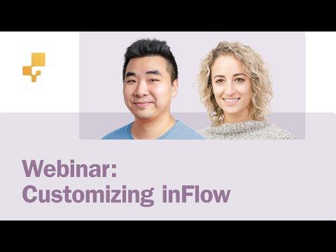 Webinar: Customizing inFlow