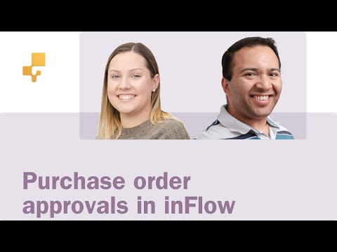 Purchase order approvals in inFlow Cloud