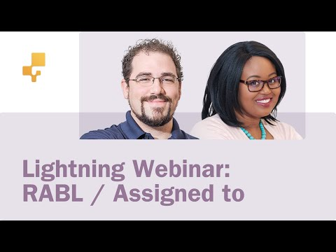 "Lightning Webinar: RABL and ""Assign to"" features in inFlow Cloud"