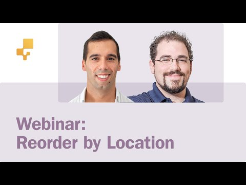Webinar: Reorder products across multiple locations