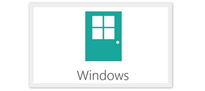 Windows 8 Door