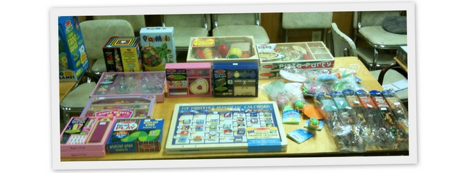 Toys and Games from Familes Come First