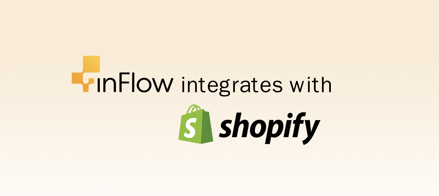 inFlow integrates with Shopify