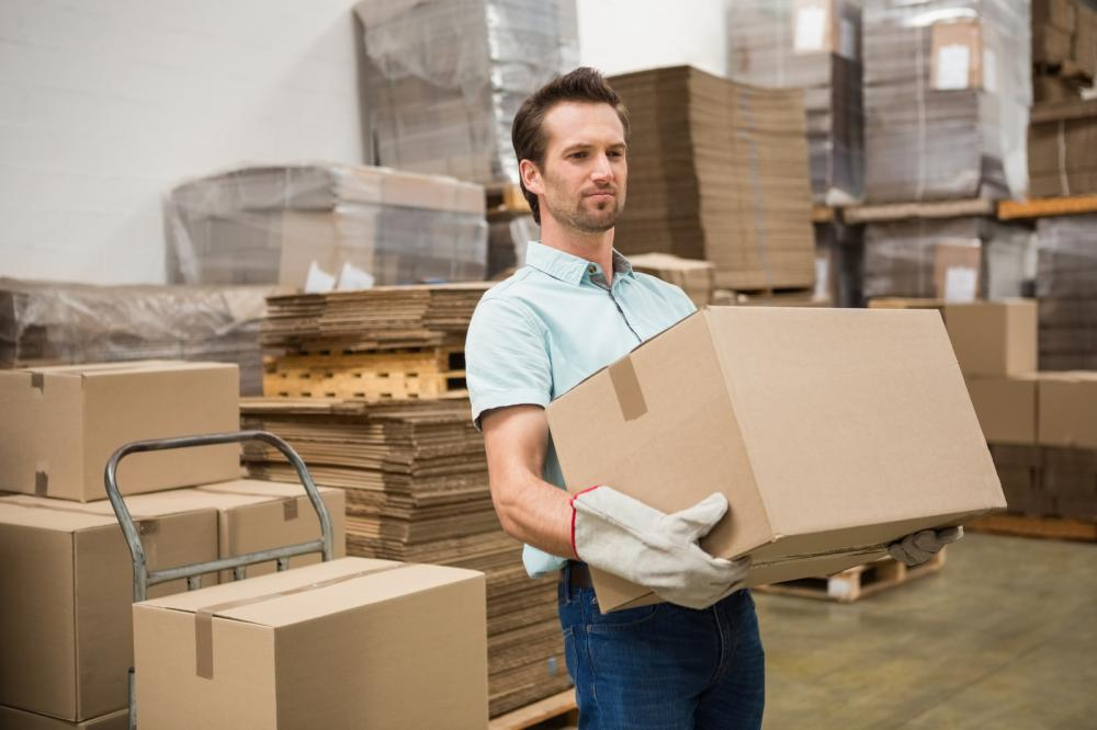 worker-carrying-box-in-warehouse